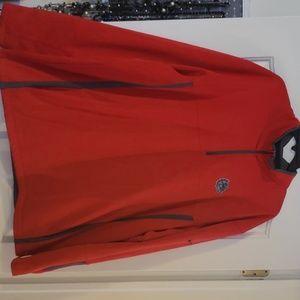 Gonzaga Bulldogs Nike Red Quarter Zip Pullover